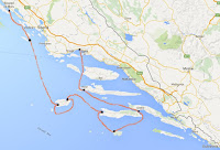 Ruta Biograd na Moru Split