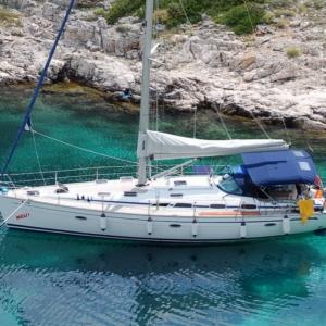 Velero en Croacia bavaria 47 pies En  el  mar adriatico