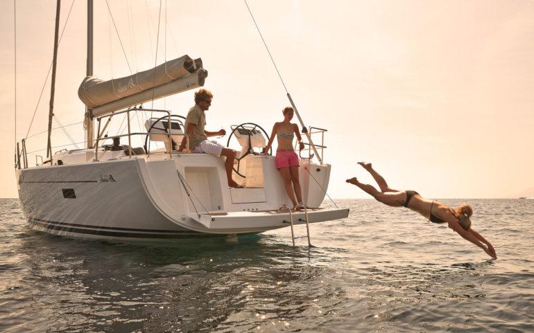 velero en croacia