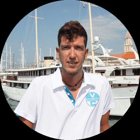 Kike-Patron-capitan-velero-croacia